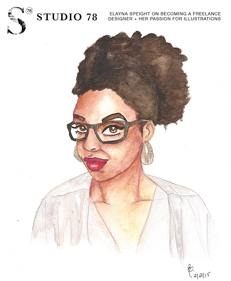 02. Elayna Speight on Becoming a Freelance Designer + Her Passion for Illustrations | Studio 78 Podcast