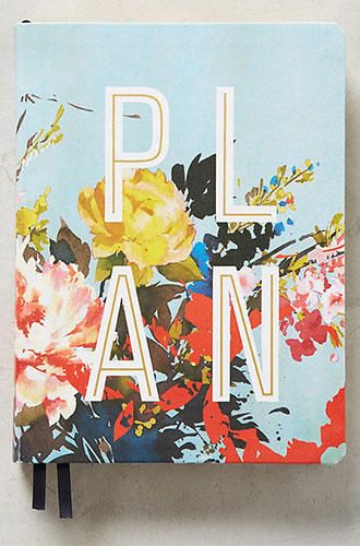 Floral Open-Dated Planner
