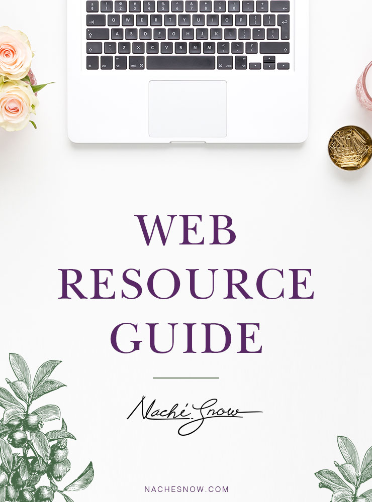 Web Resource Guide on NacheSnow.com