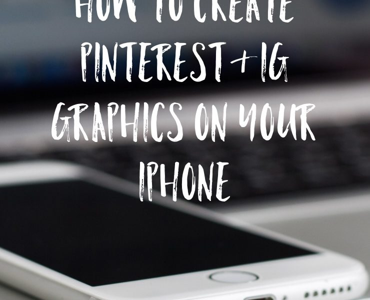 How to Create Pinterest and Instagram Graphics on Your Phone with the Over App | nachesnow.com