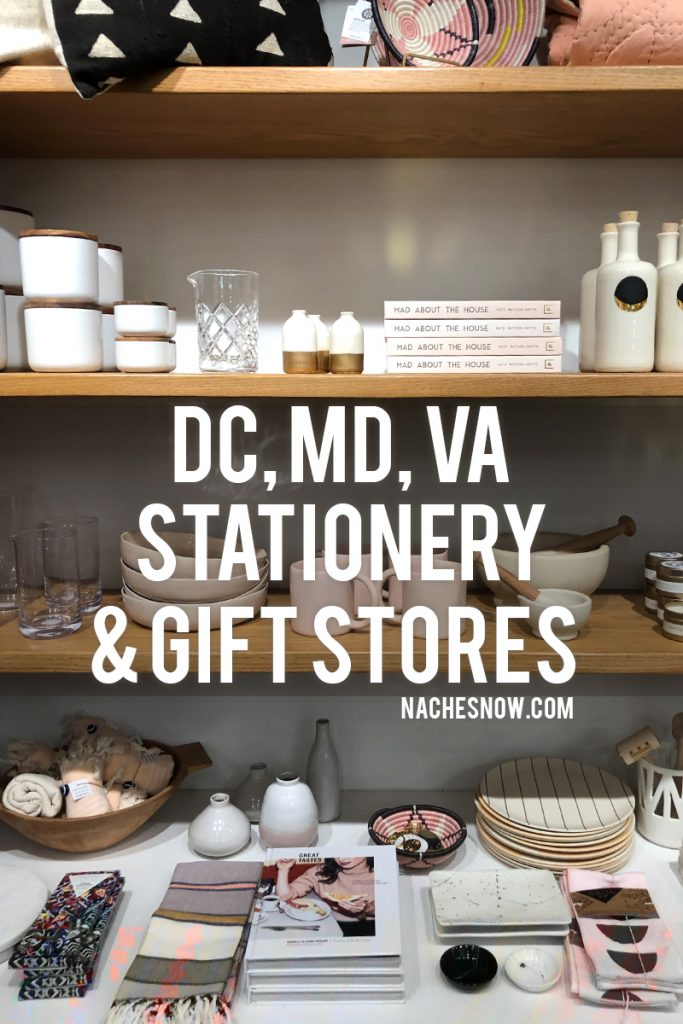 Best Stationery​ + Gift Stores in DC, MD, and VA